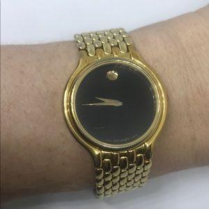 Vintage Movado Museum Movado & Gold Watch